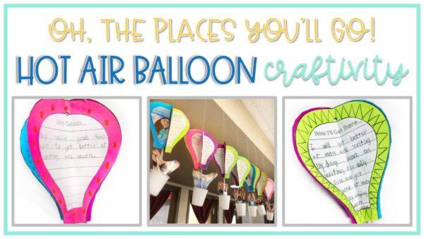hot air balloon writing