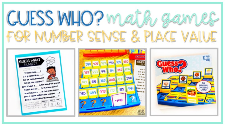 Turn the board game Guess Who into a fun learning activity for math