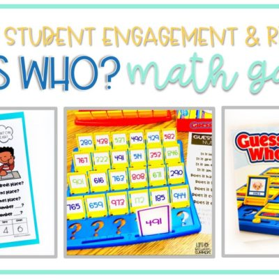 GUESS WHO Math Games: Practicing Skills with Student Engagement and Rigor