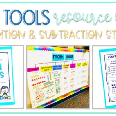 Resource Books for Math Tools and Addition & Subtraction Strategies