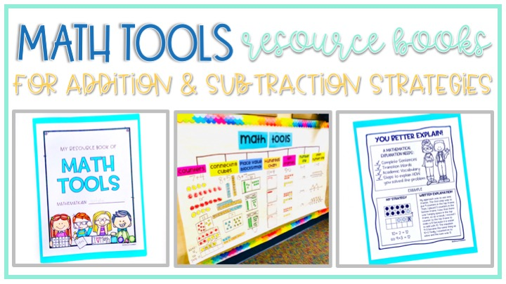 Resource for books gives students a math tool to help them create a reference book for addition and subtraction