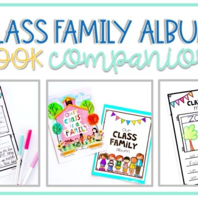 """Class Family Album: A Book Companion for """"Our Class is a Family"""""""