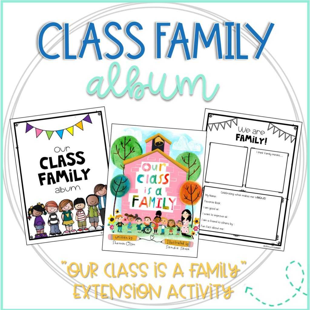 class family writing project