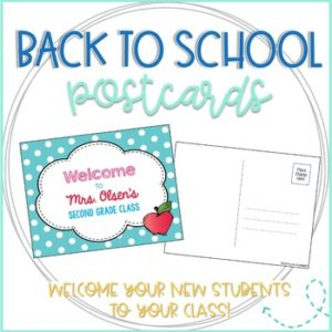 back to school pastcards