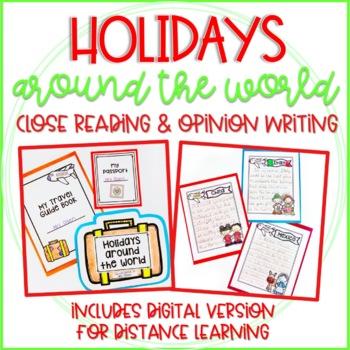 holidays around the world close reading and opinion writing