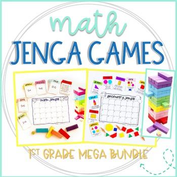 Jenga Math Games Mega Bundle