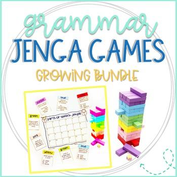 grammar jenga games bundle