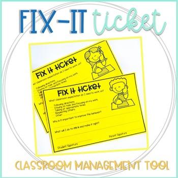 Fix It Ticket