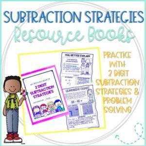 Subtraction Strategies Resource Books