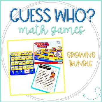 Guess Who Math Games bundle