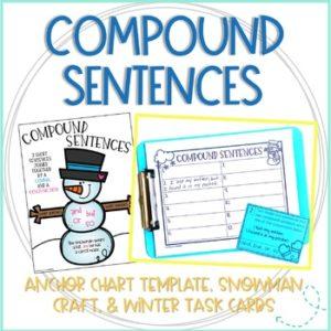winter compound sentences