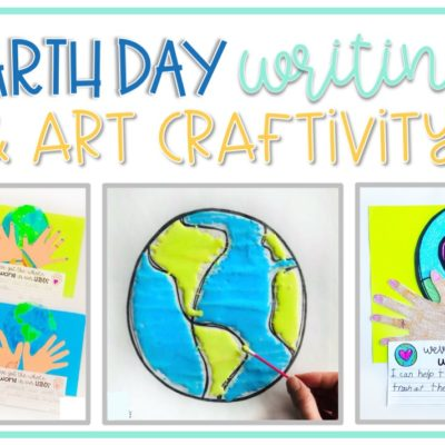 Earth Day Writing Craft for Kids