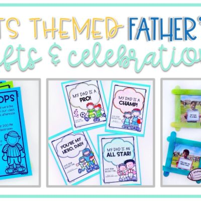 Sports Themed Father's Day Gifts from Kids