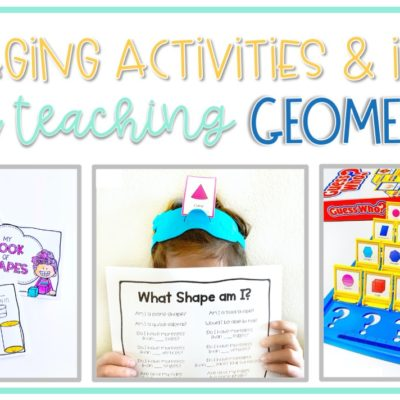 Engaging Geometry Activities for Primary Grades