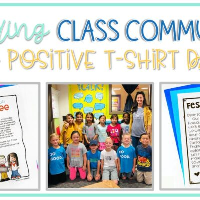 Building Class Community with Positive T-Shirt Days